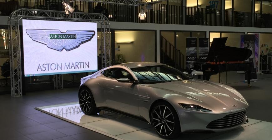 James Bond Aston Martin Db10 Tour Braun Automobil Service Gmbh